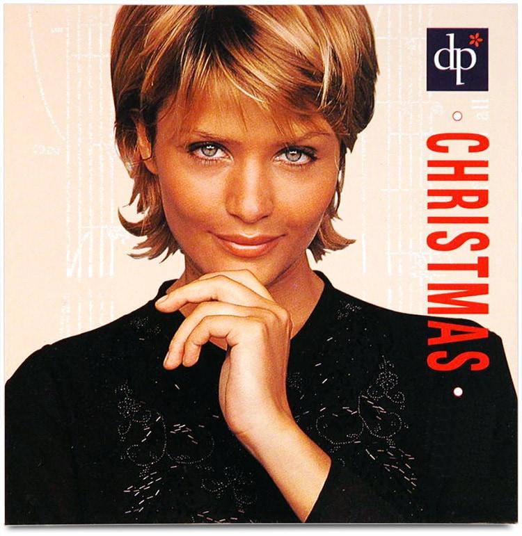 Front cover design of Christmas promotion leaflet for Dorothy Perkins