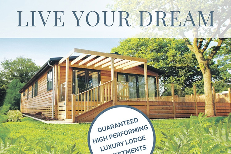 Dream Lodge Loyalty press advertising design for the Daily Telegraph
