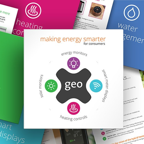 Collection of Cosy brochure print design showing front and spreads of the brochure Thumbnail