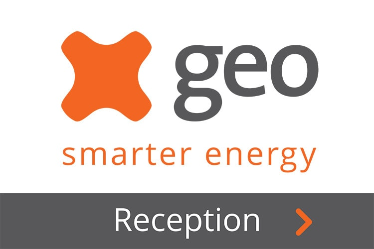 Flat of GEO delivery signage