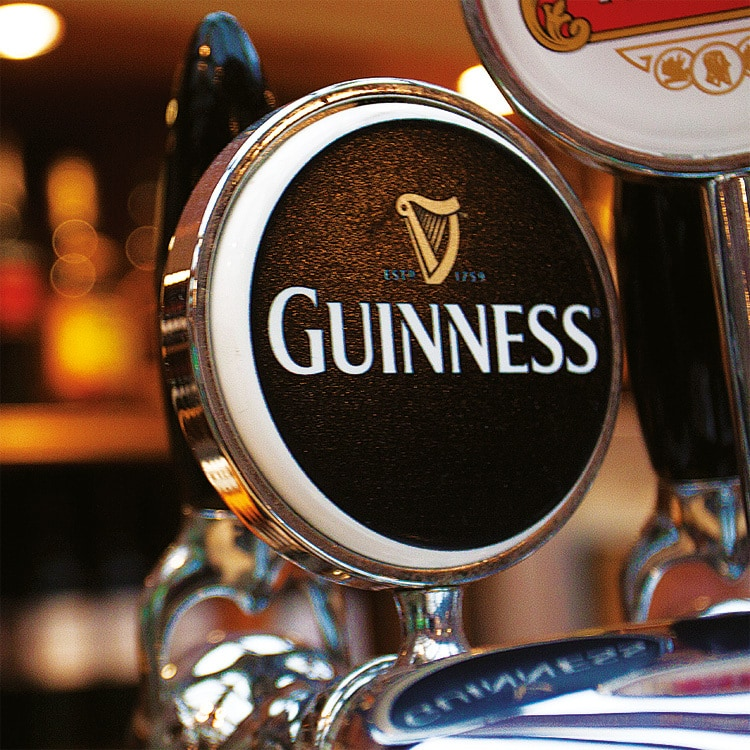 Close up of Guiness beer tap photography Great Hadham Country Club