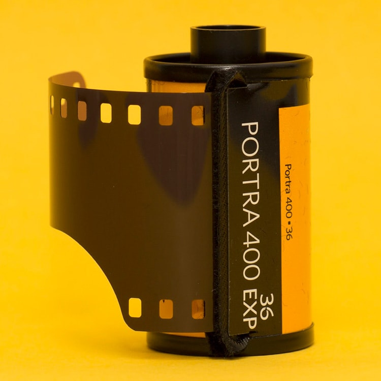 Close up of camera film photography for Kodak Alaris