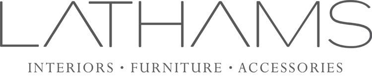 Lathams logo design with strapline