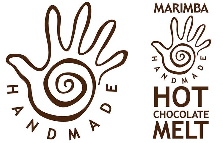 Logo design for Marimba chocolate