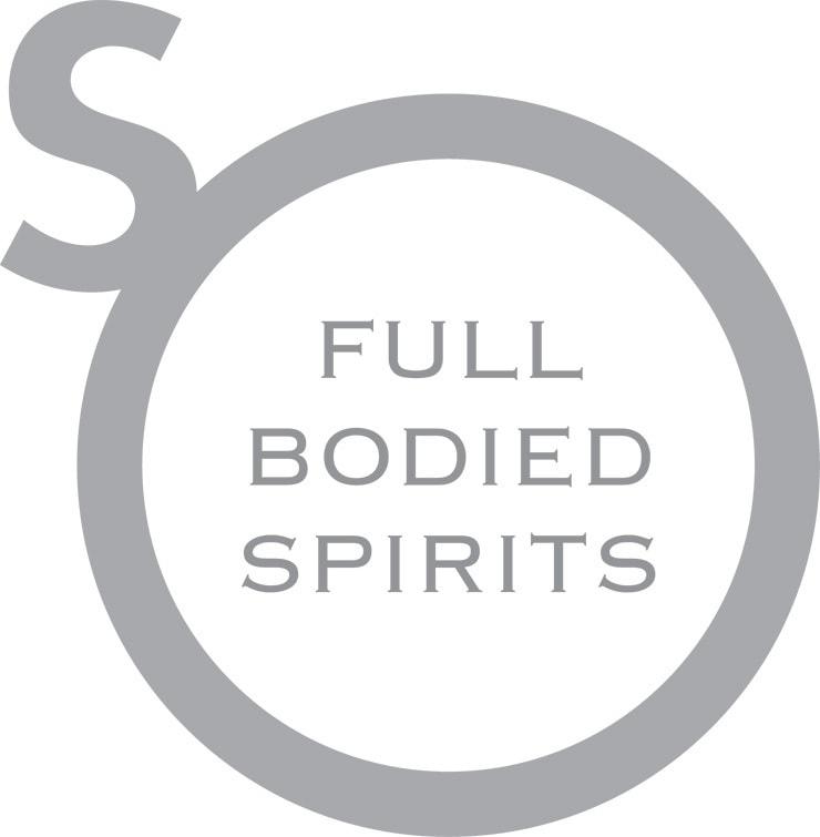 So Drinks Full Bodied Spirits logo design
