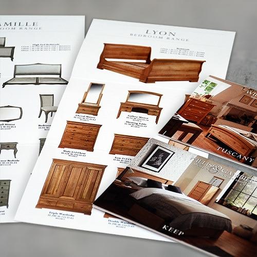 John Lewis Brochures print design for Willis & Gambier Thumbnail