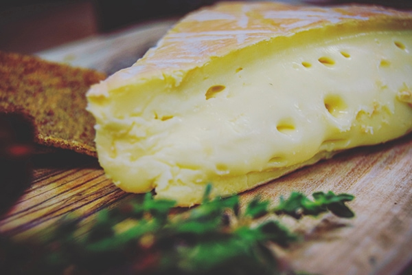 Original close up of Rollright cheese for Cheese+