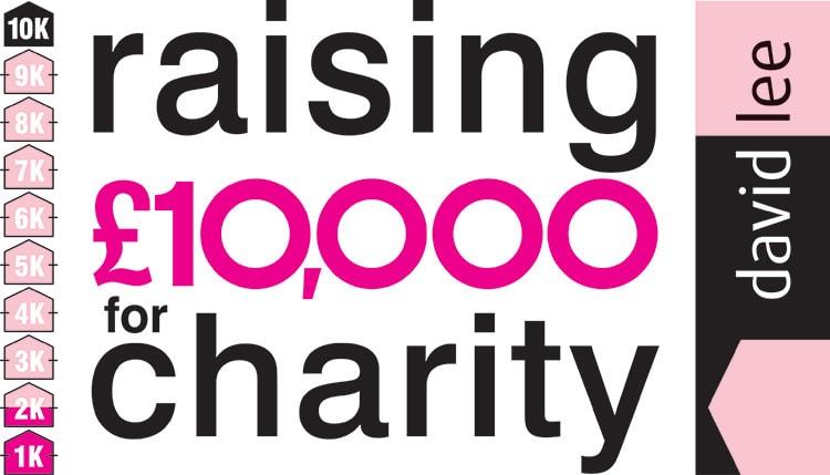 David Lee Estates promotion design for charity