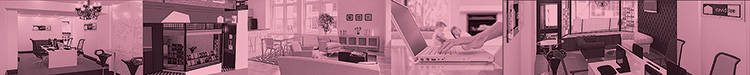 Band of David Lee Estates office image with pink overlay
