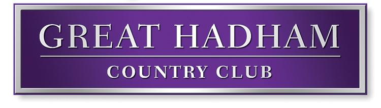 Great Hadham Country Club rendered block branding design
