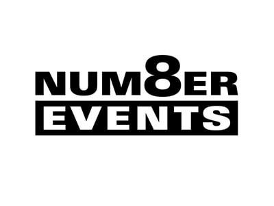 Number 8 Events Logo