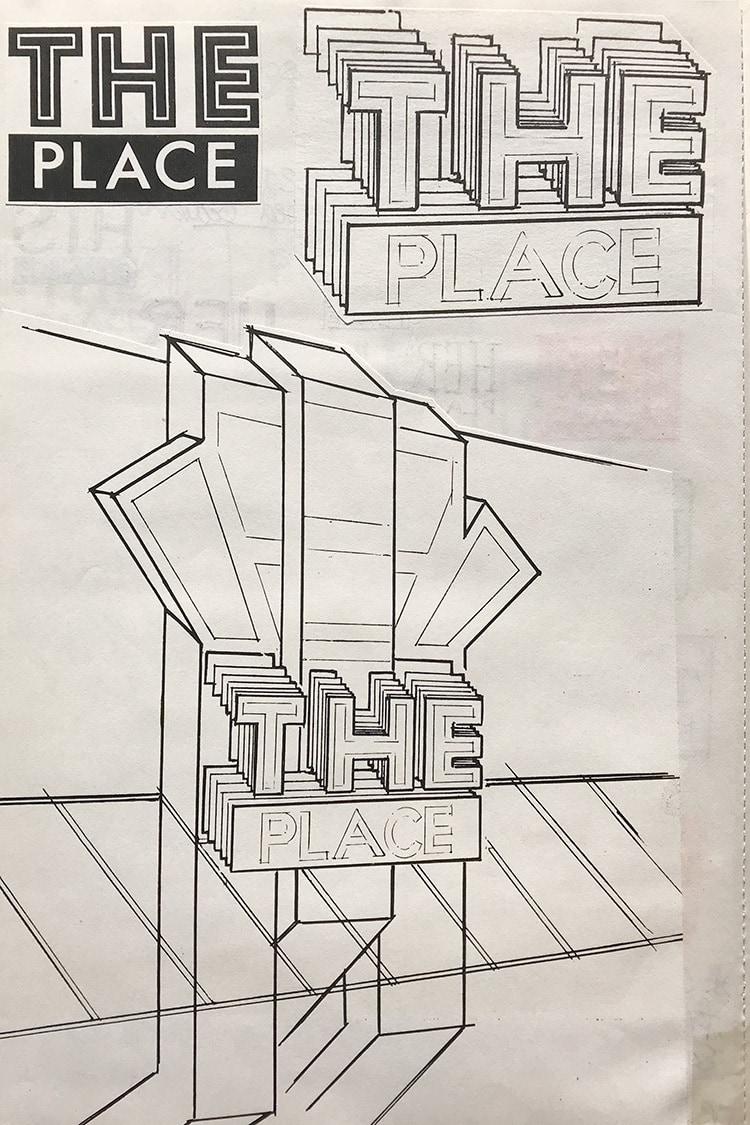 The Place shopfront development sketches