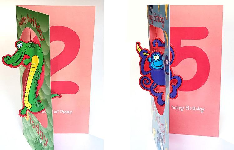 Dangle D'Art Greetings Cards for Paper D'Art