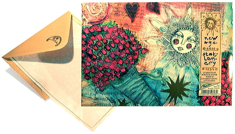 New Age Stationery 2 - for Paper D'art