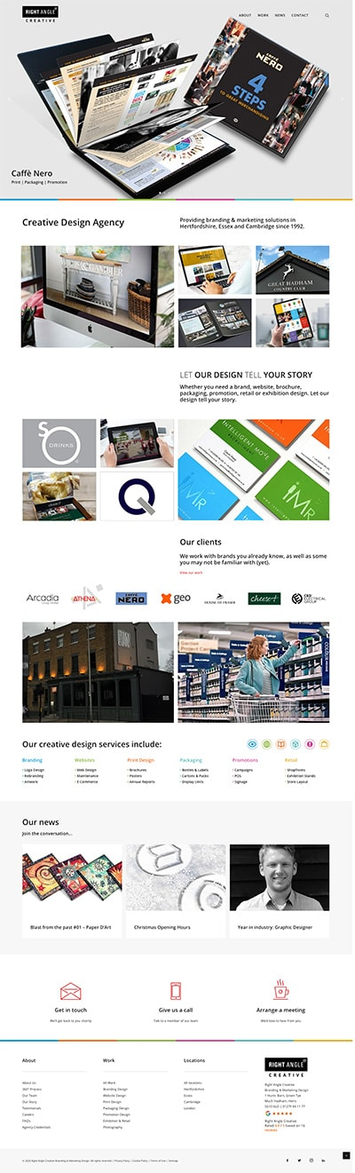 Website Re-Design New