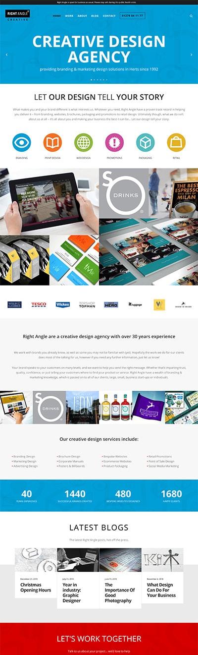 Website Re-Design Old